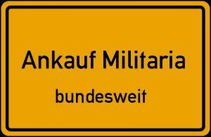 Ankauf Militaria bundesweit